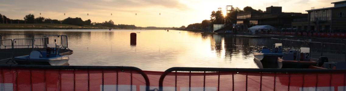 Charles and Pictor win Outlaw Half Nottingham Triathlon