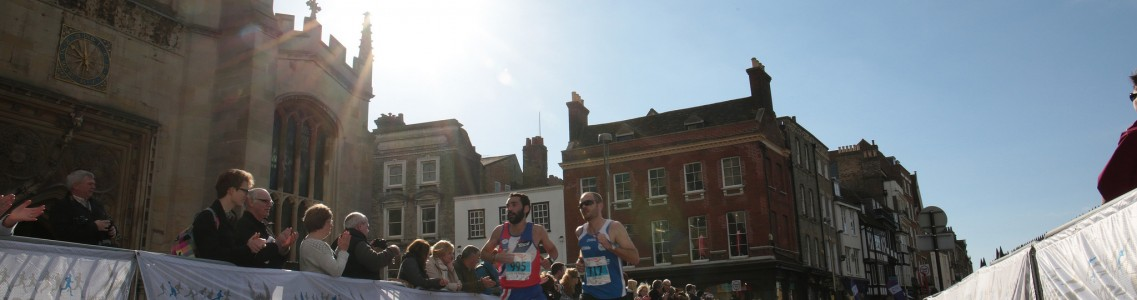 SAUCONY CAMBRIDGE HALF MARATHON - ENTRIES SELLING FAST!