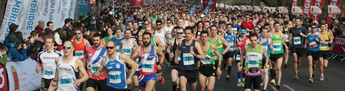 Cambridge Half marathon - CRUK Case Study