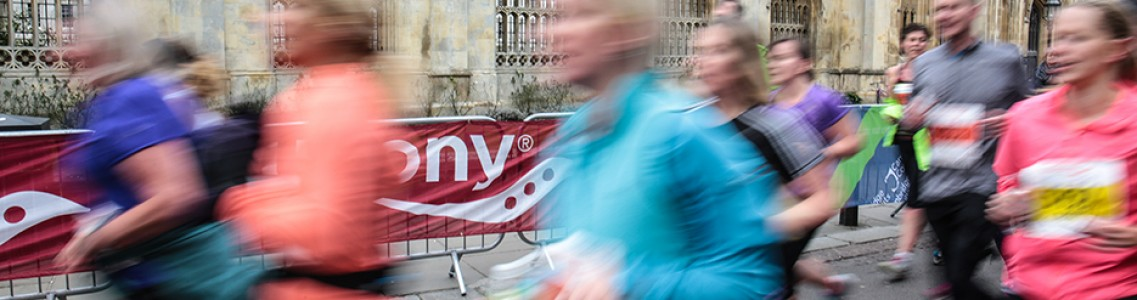 Charity places still available for the Saucony Cambridge Half Marathon 2017